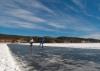 De langste schaatsbaan op natuurijs
